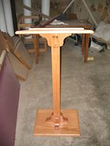 Lectern speaker stand