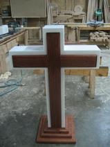 colonial cross pulpit