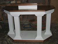 colonial column pulpit