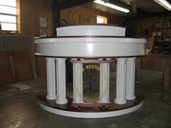 colonial radius pulpit